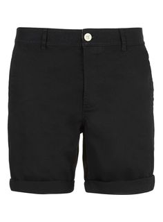 d8d9546cf6e Black chino shorts by LAC — Thread Black Chino Shorts