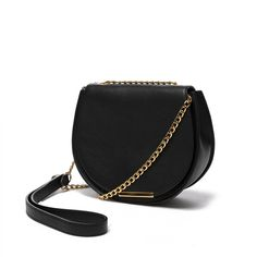 The signature mini saddle silhouette is updated with a polished chain strap. This elevated reinvention is crafted in Italy from the highest-quality, full-grain Italian leather, and finished with plated Italian hardware for the ideal elegant finish. The compact piece is roomy enough for your iPhone and other essentials. It will instill an elegant sense of occasion into everything that you do.
