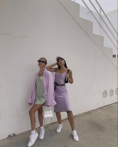 Pastel Outfit, Purple Outfits, Colourful Outfits, Cute Outfits, Casual Outfits, Fashion 2020, 90s Fashion, Fashion Outfits, Pastel Fashion