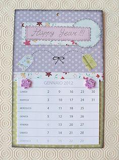 SBDCreare il calendario 2012! - Create the 2012 calendar!by SweetBioDesign