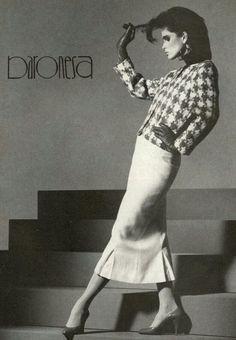 US Vogue September 1985 Model Kim Williams
