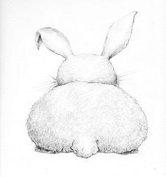 oh da bunny butt.