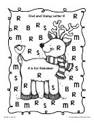 Find and Stamp Letter R.doc
