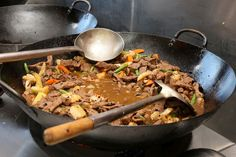 Black Bean Beef - Salt & Chilli Mobile Catering #adelaide #catering #asian #woks
