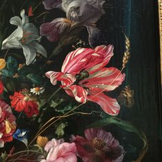 Jan Davidz de Heem, Vase of Flowers, c. 1670, Mauritshuis