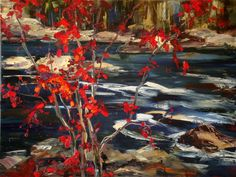 Kimberly Kiel paintings- my most favorite artist AND she's from Saskatchewan! Stunning.