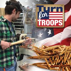 12th Annual Turn for Troops event comes to a close at @woodcraftsupply