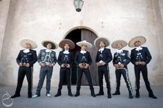 Charros.! Charro dresscode for wedding. :-)