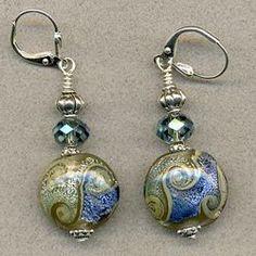 Handmade earrings on craftshowcase.net