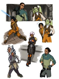 """0tterp0p: """" I got like suuuuuuuuper into Rebels like three weeks ago, and watched 2 seasons in 3 days. It was unhealthy. """"(Photo set)"""