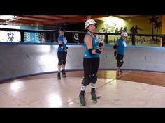 Roller Derby Technique: Jumping in Stride with San Diego Derby Dolls - YouTube