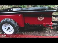 Storing a Millcreek Spreader - Easy to move and fits in tight spaces!