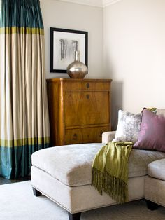 Color Block Curtains Design, Pictures, Remodel, Decor and Ideas