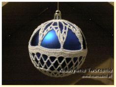 Wesołych Świąt i... szydełkowe bombki | Kreatywne tworzenie
