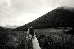 Blue Ridge Parkway, Blue Ridge Mountains, Mountain Engagement Photos, Over The Hill, First Dates, Asheville, Mists, Clouds, Photoshoot