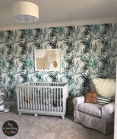 Watercolor palm leaves removable wallpaper, Rreusable wall mural, Palm leaf art, Tropical wallpaper,  Watercolor floral decal  #33 by loveCOLORAY on Etsy https://www.etsy.com/listing/473794798/watercolor-palm-leaves-removable