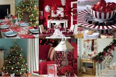 christmas decorations | christmas decoration ideas for setting table 620x414