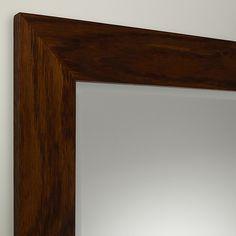 Buy John Lewis Carey Mirror, Oak, 64 x 53cm Online at johnlewis.com 104 x 74 £100