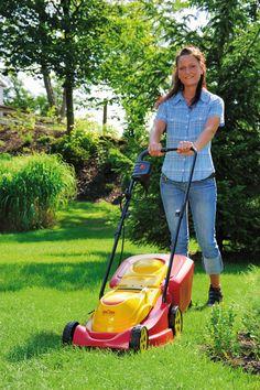 WOLF-Garten Select 3800 E Lawn Mower #garden #grass