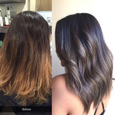 Before � After #hairbysoly #nomoreorange #hairstylist #glendale #balayage #sombre #licensetocreate #cosmoprofbeauty #btconeshot_transformations16 #btconeshot_color16 #btconeshot_ombre16 #vegas_nay #miami #newyork #vegas #fashionblogger #fashionaddict #fashiongram #fashiondiaries #trending #ohhellohair