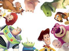 Transparentes: Toy story