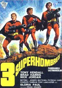 Tres Superhombres (1967) VOSE