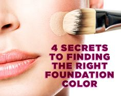 Finally, tried-and-true tips for finding the perfect shade