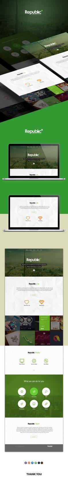 Republic on Behance