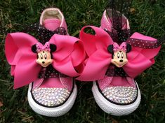 MINNIE MOUSE Inspired SHOES  Minnie Mouse Birthday by SparkleToes3, $69.99