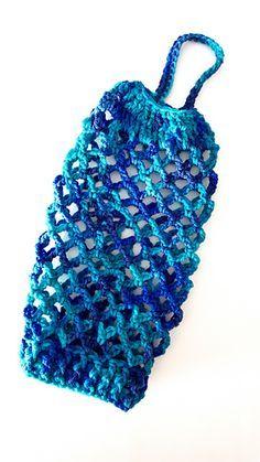 Bag keeper free crochet pattern