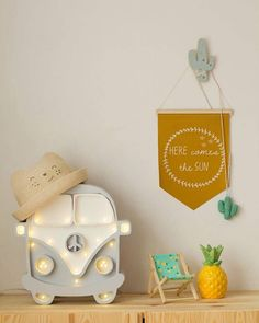 Here comes the sun - After all day of rain yesterday I can see Summer is back! Yay! Have a look at this gorgeous camper van lamp. You can pre-order it on our website it comes with free UK shipping. Colours can be customised as well Check out our Lighting section for more info and more beautiful lamp designs.