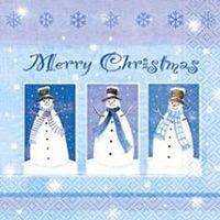 2055 Servilleta decorada Navidad