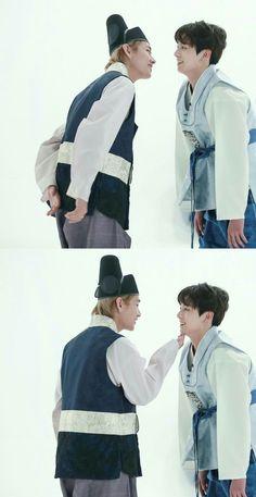 Send help pls one of my ships is sailing vkook♥♥ Bts Jungkook, V Taehyung, Namjin, Taekook, Yoonmin, Boy Band, Vkook Memes, John Legend, Foto Bts