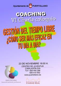 VI charla coaching: Gestión del Tiempo, ¿cómo ser más eficaz en tu día a día?