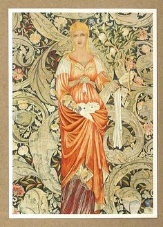 """Pomona"" by William Morris & Edward Burne-Jones, 1885"