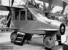 The very first working flying car prototype was built in 1917 by Glenn Curtiss.
