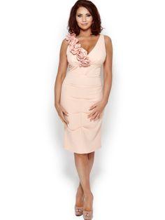 Amy Childs Melissa Midi Corsage Dress   very.co.uk