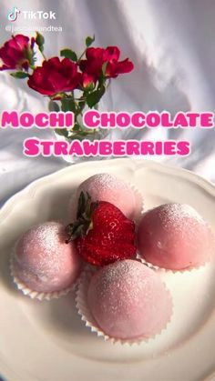 Easy Baking Recipes, Cooking Recipes, Healthy Recipes, Healthy Food, Tasty Videos, Food Videos, Hacks Videos, Cooking Videos, Chocolate Strawberries