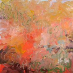 "Saatchi Art Artist Jamie Ribisi-Braley; Painting, ""Back and Forth"" #art (Nicole Garton)"