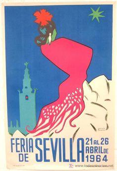Sevilla. Feria de A bril, 1954.