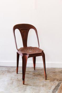 chaise de bistrot multipl 39 s joseph mathieu tolix industrielle mobilier industriel lyon. Black Bedroom Furniture Sets. Home Design Ideas