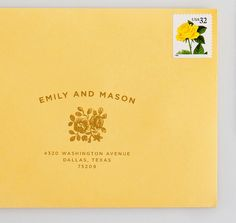 Address Stamp / The Creative Parasol