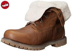 Timberland 8328R Teddy Fleece 6 inch Brown, Schuhe, Stiefel & Boots, Hohe Boots, Braun, Female, 36
