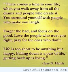 Jose N Harris quote on life - http://www.loveoflifequotes.com/life/jose-n-harris-quote-life/