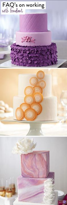 How to work with fondant - We've gathered up your most frequently asked questions on working with fondant!
