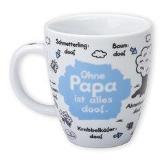 "Sheepworld Tasse ""Papa"" Computer Accessories, Mugs, Tableware, Barista, Amazon, Design, Products, Guy Gifts, Tablewares"
