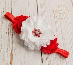 Weihnachten Baby Stirnband Baby Stirnbänder von SweetValentina