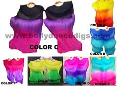silk fans veils As low as $25.00 #bellydance #silkfanveils #veils