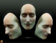 Facial reconstruction of Napoleon Bonaparte based on his deathmask. Bizarre Pictures, Epic Photos, Best Funny Pictures, Odd Pictures, Unusual News, Bizarre News, Best Of 9gag, Making Faces, Interesting History