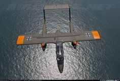 North American Rockwell OV-10B Bronco; North Sea, France